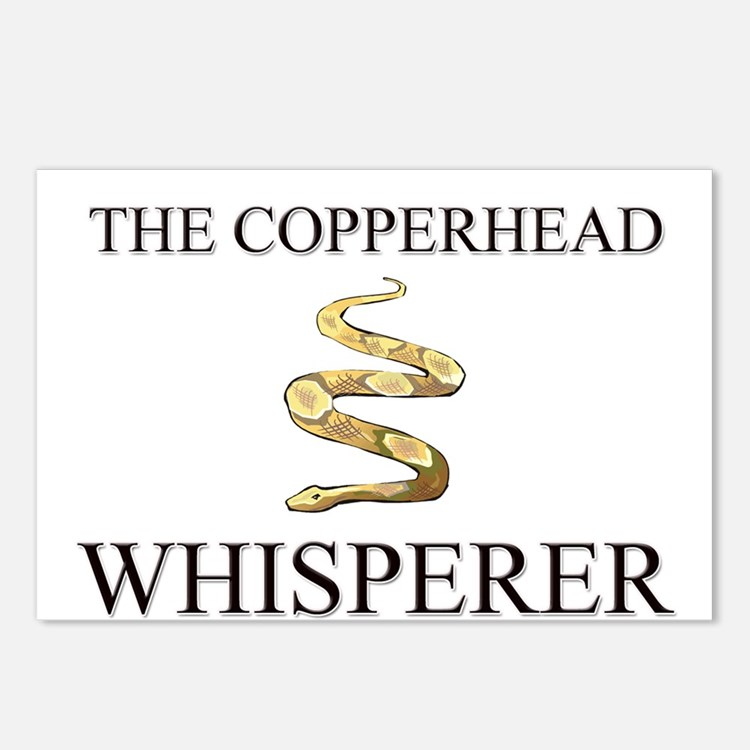 The Copperhead Whisperer Postcards (Package of 8)