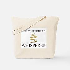 The Copperhead Whisperer Tote Bag