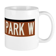 Central Park West in NY Mug