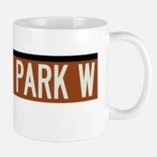 Central Park West in NY Mug