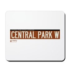 Central Park West in NY Mousepad