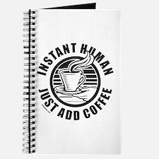 JUST ADD COFFEE Journal