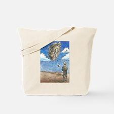 Surrealist Buddha Tote Bag