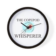 The Copepod Whisperer Wall Clock