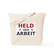 Held der Arbeit Tote Bag