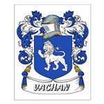 Vachan Coat of Arms Small Poster