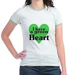 I Love My T Shirts: Jr. Ringer T-Shirt
