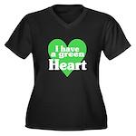 I Love My T Shirts: Women's Plus Size V-Neck Dark