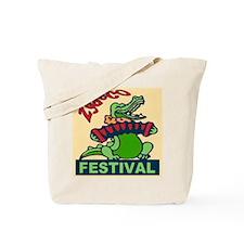 Zydeco Gator Tote Bag