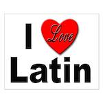 I Love Latin Small Poster