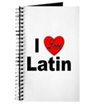 I Love Latin Journal