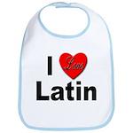 I Love Latin Bib