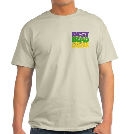 Two Sides Printed Best Bead Catcher Light T-Shirt