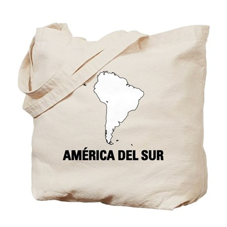 America del Sur Tote Bag