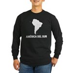 America del Sur Long Sleeve Dark T-Shirt