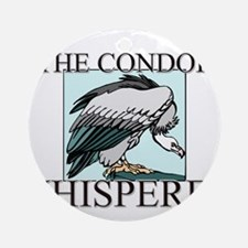 The Condor Whisperer Ornament (Round)