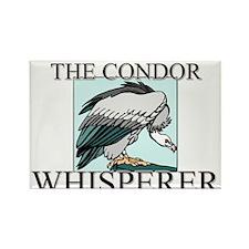 The Condor Whisperer Rectangle Magnet