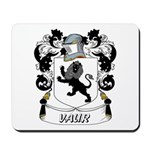 Vaur Coat of Arms Mousepad