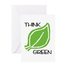 Think Green: Greeting Card
