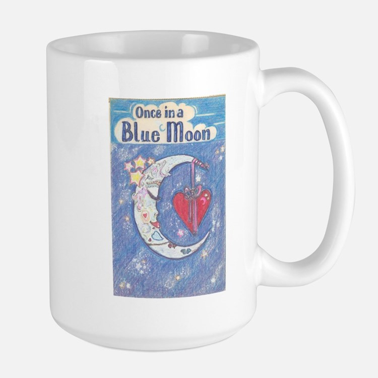 Cute Blue moon Mug