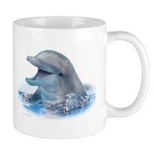 Happy Dolphin Small Mug