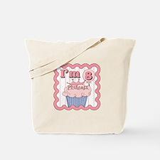 8th Birthday Princess Cupcake Tote Bag