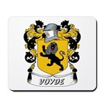 Voyde Coat of Arms Mousepad