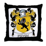 Voyde Coat of Arms Throw Pillow