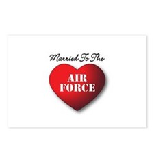 Married to the Air Force Postcards (Package of 8)