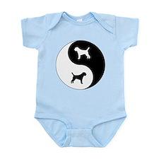 Yin Yang Border Terrier Infant Bodysuit