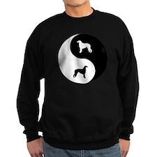 Yin Yang Borzoi Sweatshirt