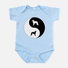 Yin Yang Borzoi Infant Bodysuit