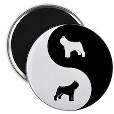 Yin Yang Bouvier Magnet