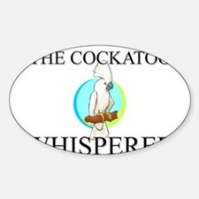 The Cockatoo Whisperer Oval Decal