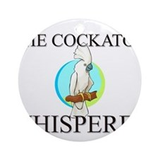 The Cockatoo Whisperer Ornament (Round)