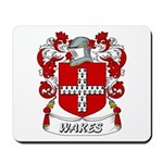 Wakes Coat of Arms Mousepad
