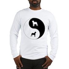 Yin Yang Bullmastiff Long Sleeve T-Shirt