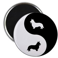 Yin Yang Cardigan Magnet