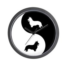 Yin Yang Cardigan Wall Clock