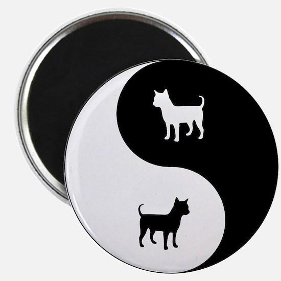 Yin Yang Chihuahua Magnet