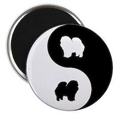 Yin Yang Chow Chow Magnet