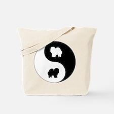 Yin Yang Chow Chow Tote Bag