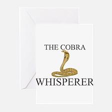The Cobra Whisperer Greeting Cards (Pk of 10)