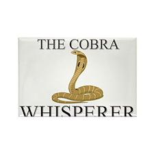 The Cobra Whisperer Rectangle Magnet