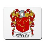 Wheler Coat of Arms Mousepad