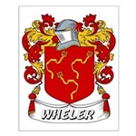 Wheler Coat of Arms Small Poster