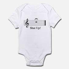 Musical Shut Up Infant Bodysuit