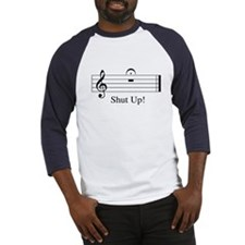 Musical Shut Up Baseball Jersey