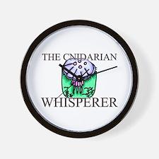 The Cnidarian Whisperer Wall Clock