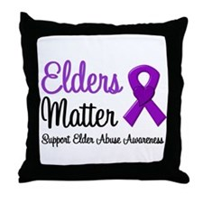 Elders Matter Throw Pillow